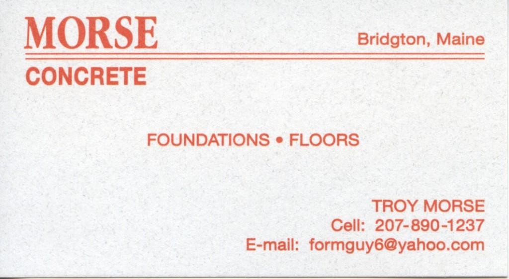 Morse Concrete
